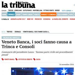 Veneto Banca Class Action Calvetti