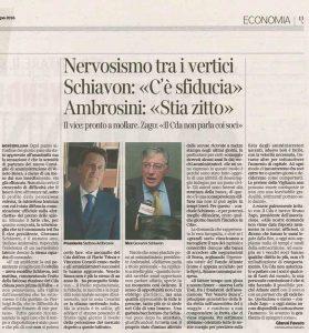 Articolo Corriere del Veneto