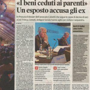 Class Action Calvetti tribuna di Treviso