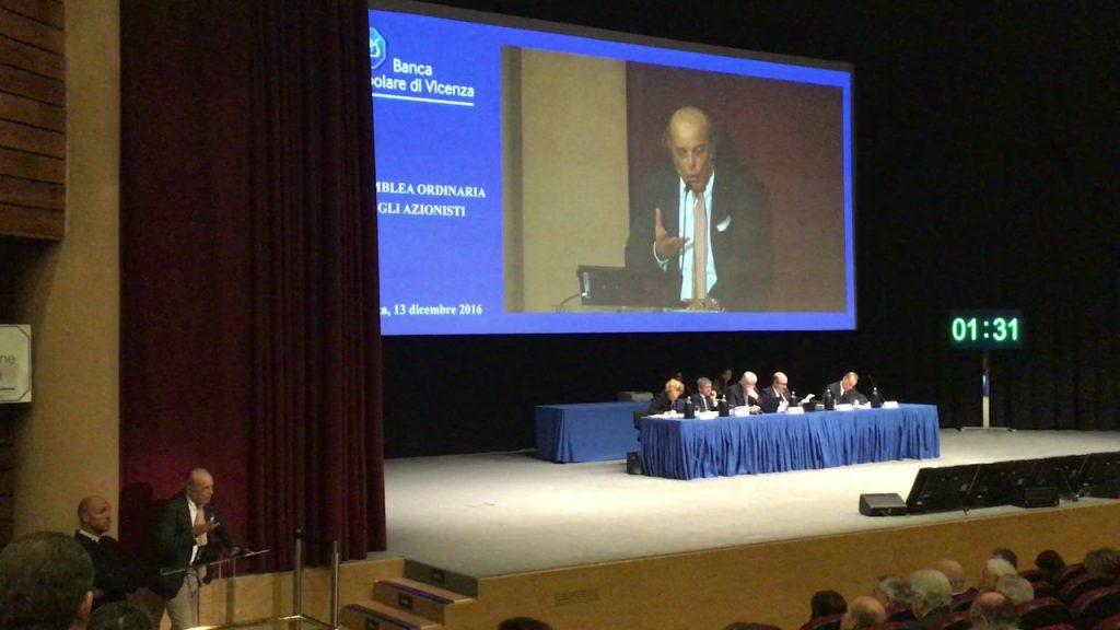 assemblea soci Banca Popolare di Vicenza
