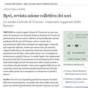 Corriere della Sera Class Action