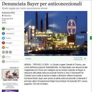 Causa contro Bayer Calvetti