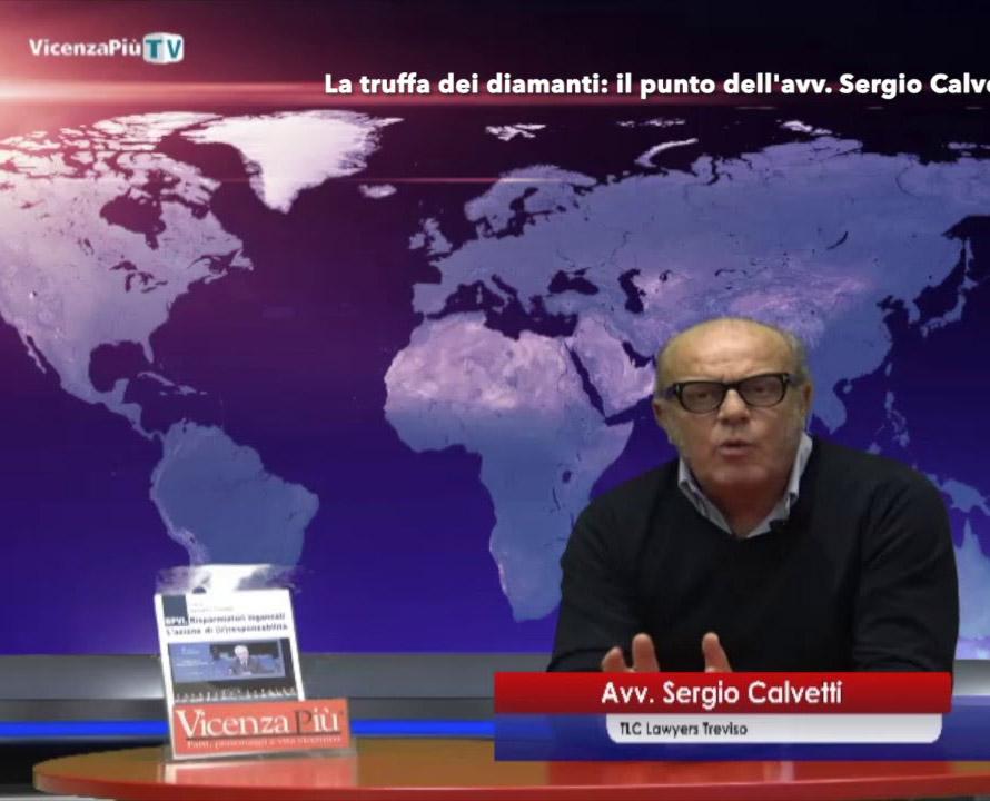 Truffa diamanti Sergio Calvetti avvocato Treviso